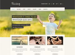 Blessing WordPress Theme via ThemeForest