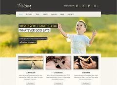 Blessing WordPress Theme via ThemeForest
