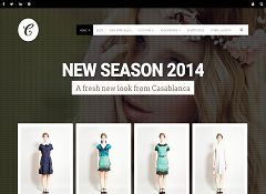 Casablanca WordPress Theme via ThemeForest