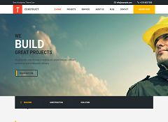 Construct WordPress Theme via ThemeForest