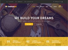 Constructent WordPress Theme via ThemeForest