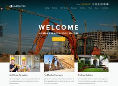 Construction WordPress Theme via ThemeForest
