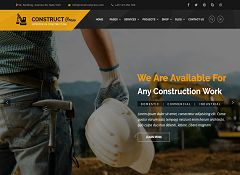 Construct Press WordPress Theme via ThemeForest
