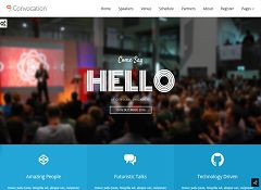 Convocation WordPress Theme via ThemeForest
