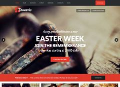 Dunamis WordPress Theme via ThemeForest