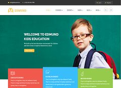 Edmund WordPress Theme via ThemeForest