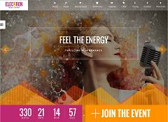 Electron WordPress Theme via ThemeForest