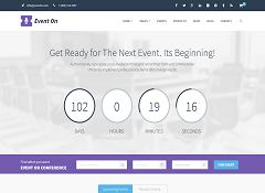 Event On WordPress Theme via ThemeForest