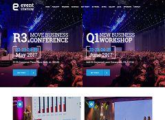 Event Station WordPress Theme via ThemeForest