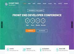 Event Time WordPress Theme via ThemeForest