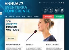 Eventerra WordPress Theme via ThemeForest