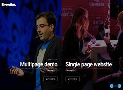 Eventim WordPress Theme via ThemeForest