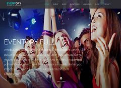 Eventory WordPress Theme via ThemeForest