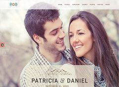 Forever Wedding WordPress Theme via ThemeForest