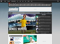 Gameday WordPress Theme via ThemeForest