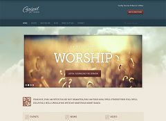 Gospel WordPress Theme via ThemeForest