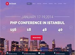 im Event WordPress Theme via ThemeForest