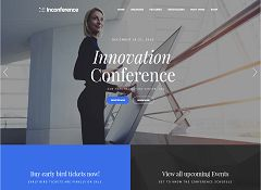 In Conference WordPress Theme via ThemeForest