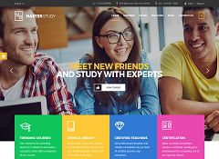 MasterStudy WordPress Theme via ThemeForest
