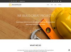 Max Construction WordPress Theme via ThemeForest