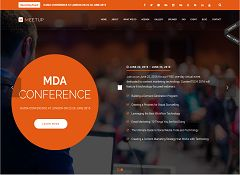 Meetup WordPress Theme via ThemeForest