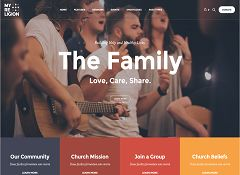 My Religion WordPress Theme via ThemeForest