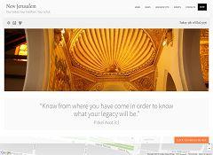 New Jerusalem WordPress Theme via ThemeForest