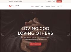 Pastor'e WordPress Theme via ThemeForest