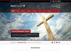 Real Church WordPress Theme via ThemeForest
