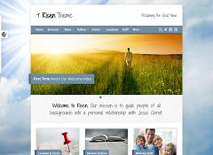 Risen WordPress Theme via ThemeForest