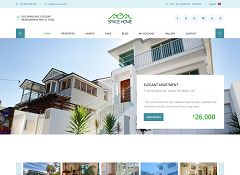 Space Home WordPress Theme via ThemeForest