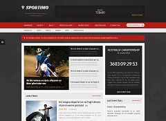 Sportimo WordPress Theme via ThemeForest
