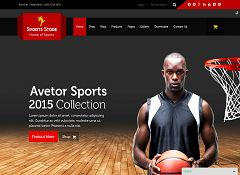 Sports Store WordPress Theme via ThemeForest