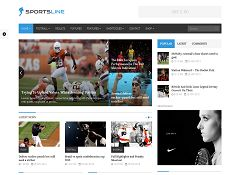 Sportsline WordPress Theme via ThemeForest