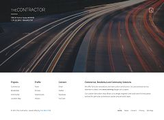 The Contractor WordPress Theme via ThemeForest
