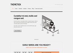 Themetick WordPress Theme via ThemeForest