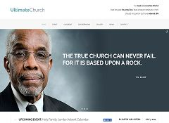Ultimate Church WordPress Theme via ThemeForest