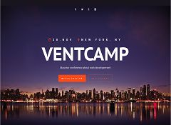 Ventcamp WordPress Theme via ThemeForest