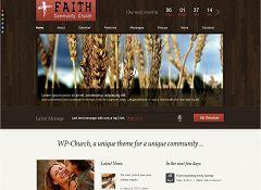 WP-Church WordPress Theme via ThemeForest