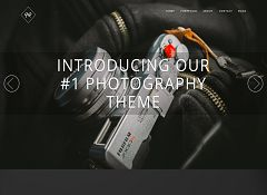 RokoPhoto WordPress Theme by ThemeIsle