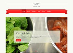 Eatery WordPress Theme by ThemeLab
