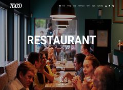 Food WordPress Theme by Visual Modo