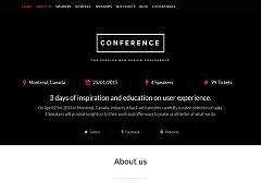 Conference WordPress Theme by WPLook