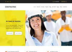 Construction WordPress Theme by WPLook