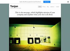 Tanjun WordPress Theme by BizzThemes