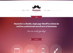 Mustache WordPress Theme by cssigniter