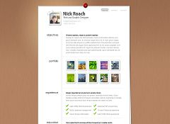 MyResume WordPress Theme by Elegant Themes