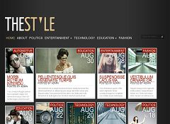 TheStyle WordPress Theme by Elegant Themes