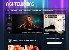 Night Club WordPress Theme by Gorilla Themes