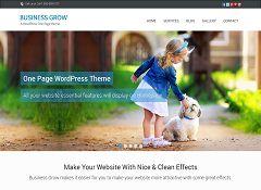 BusinessGrow WordPress Theme by InkThemes